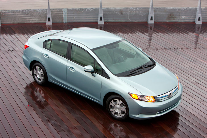 Inhabitat Takes A Spin In The New 2012 Honda Civic Hybrid