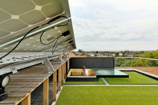 Ilma Grove, Andrew Maynard, green roof, green renovation, australia, small space living, solar passive design
