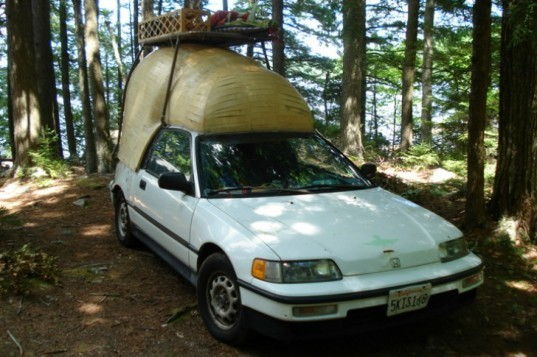 Jay Nelson, eco art, green renovation, hacked campers, campers, caravans, green transportation