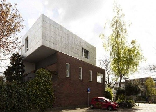 Daylighting, BYTR Architects, Lighthouse, Utrecht, The Netherlands, Rooftop Terrace, Minimalist, green design, sustainable design, eco design, renovation, green building