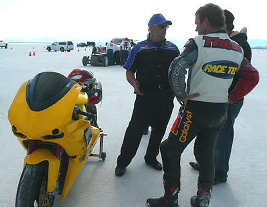 Electric Vehicle, Electric Motorcycle, Lightning Motorcycles, APS Class, Souther California Timing Association, Paul Thede, Bonneville Track
