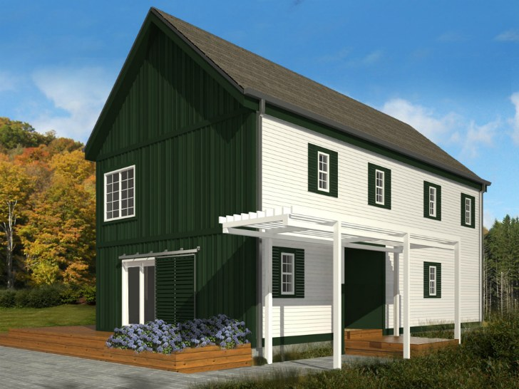 Blu homes unveil classic new england style lofthouse for New england architecture