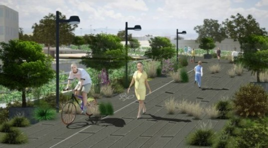 green design, eco design, sustainable design, High Line Park New York, Mexico City, Chapultepec Forest, urban renewal, pedestrian pathway, Public Space Authority