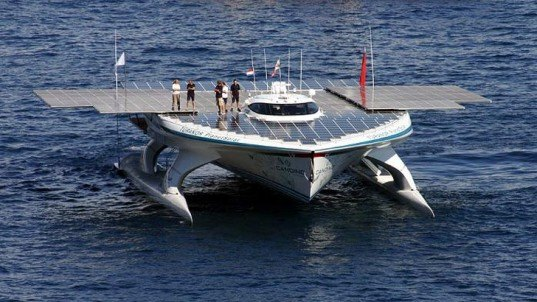 green design, eco design, sustainable design, solar power, solar panels, lithium-ion battery, solar powered ship, PlanetSolar, Hong Kong, Renewable energy, TURANOR
