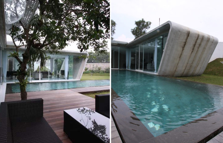 Budi Pradonou0027s Naturally Cooled R House Brings Nature Indoors