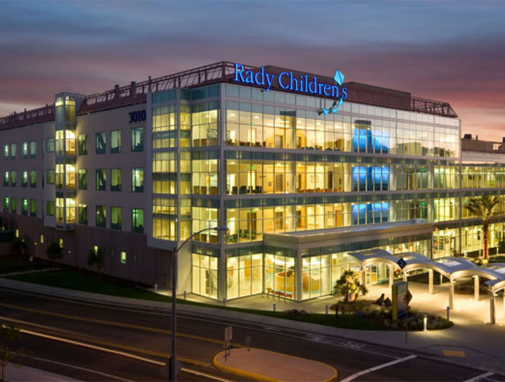 California s first leed certified children s hospital for Certified building designer