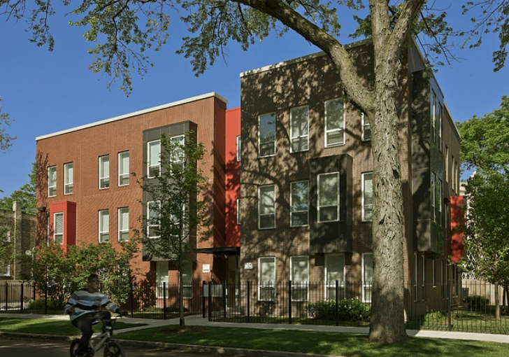 small apartment building design. 8 Affordable Chicago Eco Apartment Buildings Achieve Economies of Scale  Inhabitat Green Design Innovation Architecture Building