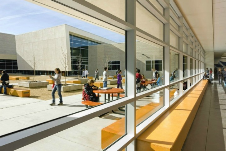 Energy Efficient Silverland Middle School Comes With Its Own