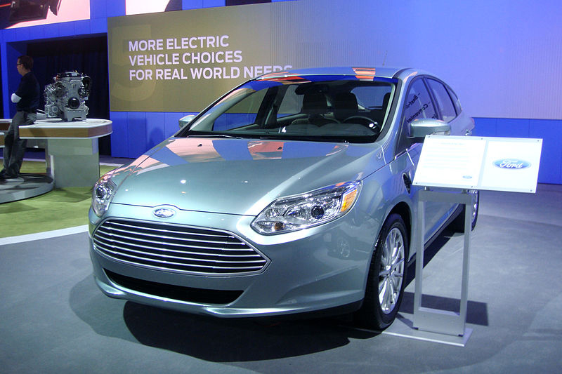 Ford To Offer Sun Solar Arrays With Their New Focus Electric