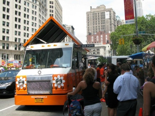 Sungevity, Ice Pop Truck, rolling rooftop revolution, organic popsicles, solar power, solar powered food truck