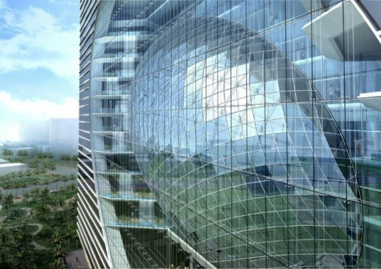 The Capital, James Law Cybertecture, mumbai, india, led media display, cybertecture