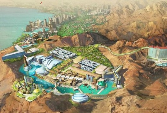 architecture, Entertainment parks, Theme Parks, Star Trek themed park, Star Trek, Entertainment, Green technologies, Rubicon Group Holding, Callison, renewable energy, timon singh, star trek theme park jordan, star trek theme park
