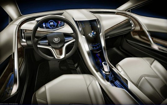 cadillac, green transportation, electric plug-in vehicles, Cadillac Converj, electric cadillac, electric vehicles