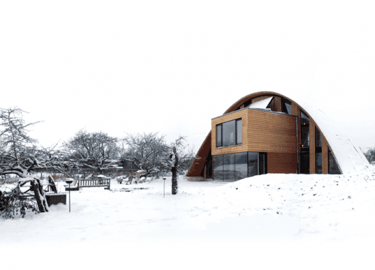 Crossway, Passive House, Zero-Carbon, Richard Hawkes, certified, green roof, living roof, biomass boiler, photovoltaic panels, solar thermal, heat recovery, triple glazing, eco design, sustainable design, green design