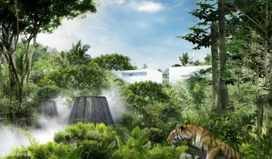 green roof, eco architecture, aeter architects, bio filter, hong kong, shenzhen river, green design, sustainable design, eco island