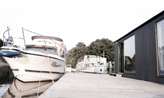 Architecture - Floating prefabricated home ...