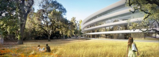 Cupertino, Apple, Foster and Partners, California, Steve Jobs, Apple, North America ARUP, Kier & Wright, natural ventilation, green space, eco design, sustainable design, green design