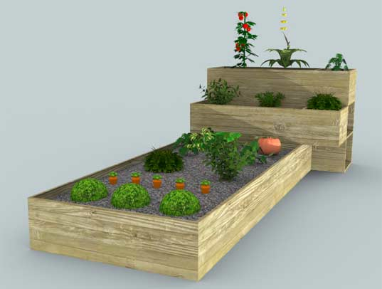 Luis lucido 39 s simple garden patch is a great way to for Veggie patch layout