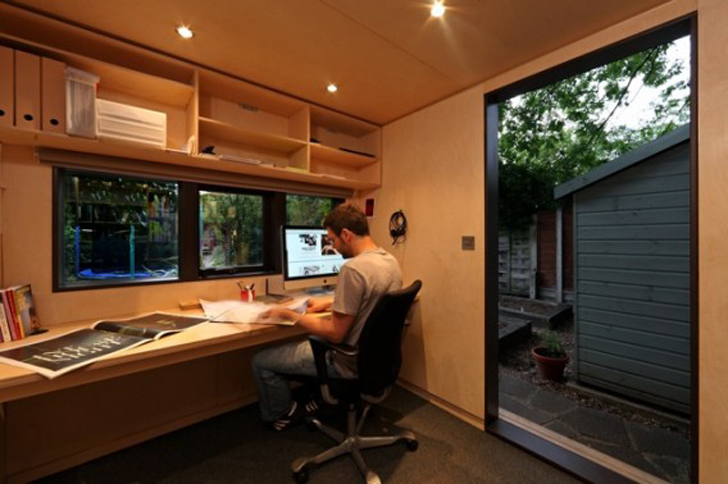 backyard office prefab. startslideshow u003e backyard office prefab