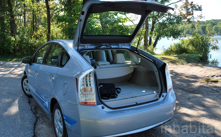 Test Drive Inhabitat Takes The New Plug In Prius For An Extended