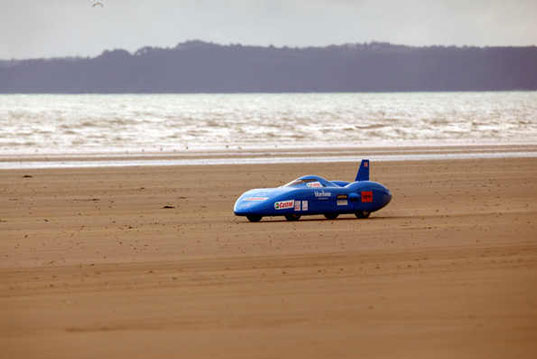 Bluebird EV, land speed record attempt, Don Wales, Joseph Wales, Pendine Sands, green transportation, alternative transportation, green automotive design, electric vehicle, electric car