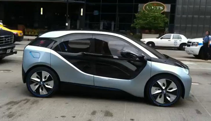 Bmw S 2014 I3 Electric Car Spotted In Chicago Before Its Official