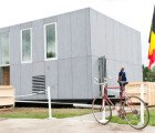 Team Belgium's E-Cube 2011 Solar Decathlon House is a DIY Modular Kit-Home