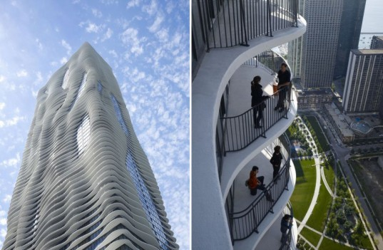 Jeanne Gang, studio gang architecture, green skyscraper, green tower, aqua tower, aqua skyscraper, chicago architecture, chicago design, chicago the loop, the loop, the loop architecture, green skyscraper, eco skyscraper, roof gardens