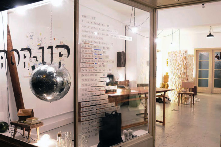 Pop Up Boutique In Former Solar Panel Shop Decorated With