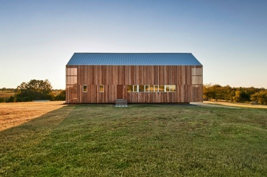 Barndominium, LoJo Architects, live-work space, barn, small space living, texas, barn condo