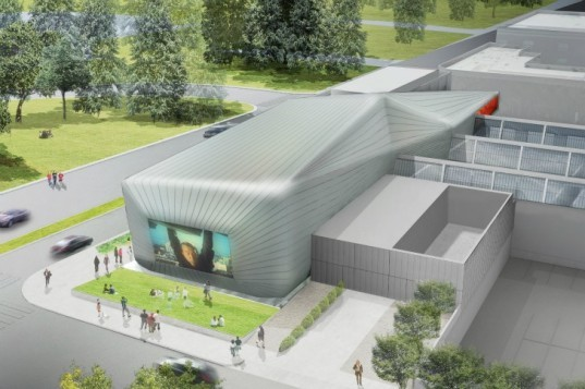 Berkeley Art Museum and Pacific Film Archive, Diller Scofidio and Renfro, Berkeley, art museum, film archives, daylighting, renovation