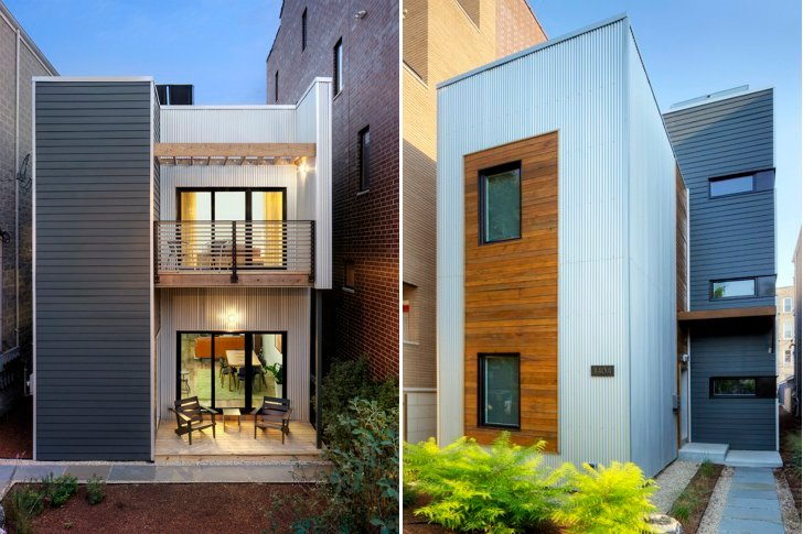 C3 chicago prefab is a cost effective sustainable urban for Cost effective homes