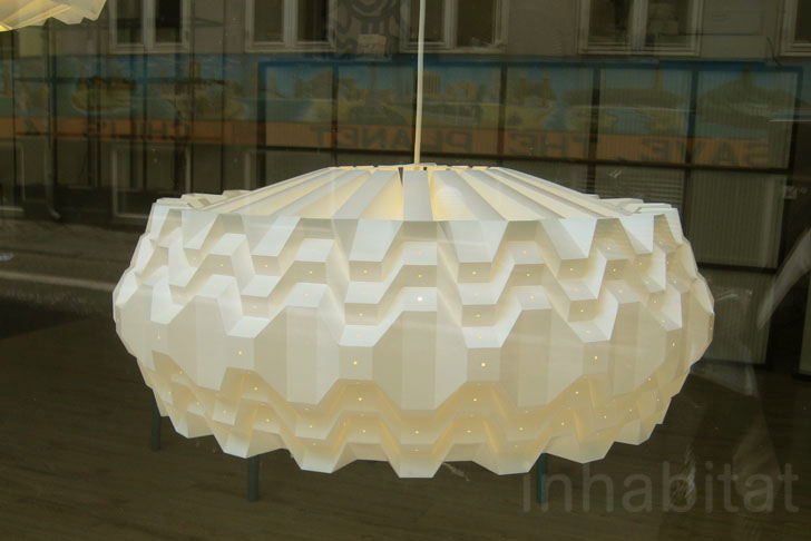 Le klints gorgeous folded lamps shine bright at copenhagen design in 2003 le klint was officially appointed purveyor to the royal danish court and their lamps are now hanging within important public buildings around the mozeypictures Gallery
