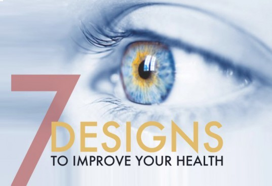 Green design, design for health, design that improves health, design and technology for health, healthy lifestyle, The Andrea, Lifestraw, The Glucowizzard, Bobble Bottle, Sit-to-Walkstation Treadmill Desk, Solar-Powered Eye Implant, The Fitbit