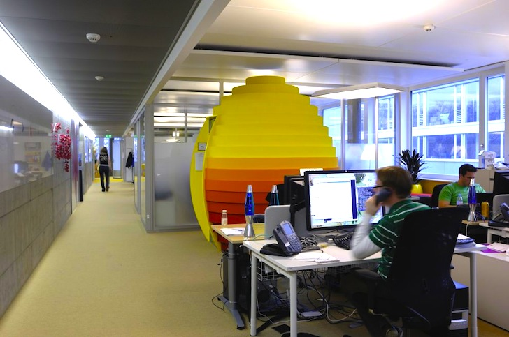 google office in zurich. Google Office In Zurich By Camenzind Evolution