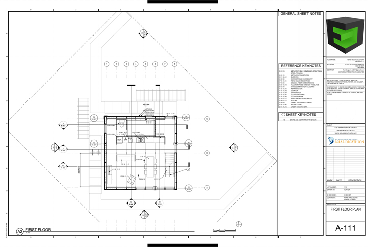 Team Belgium Solar Decathlon 2011 Construction Drawings
