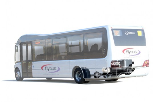 hybrid bus, hybrid bus system, kinetic energy storage, flywheel, what is a flywheel, hybrid flywheel system, flywheel vehicle, flywheel automobile, hybrid system, hybrid electric system