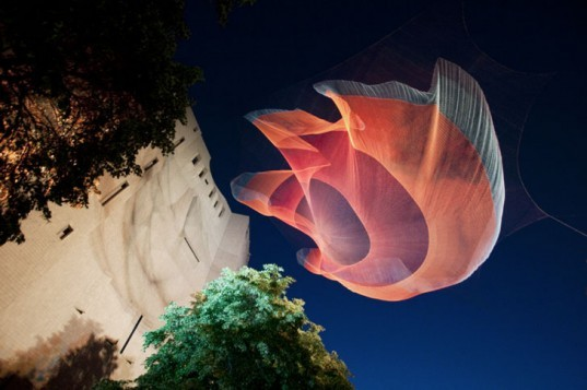 green design, eco design, sustainable design, Janet Echelman, net sculptures, Fulbright Lectureship, TED