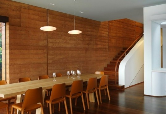 Kirribilli House, Luigi Rosselli Architects, rammed earth, sydney, australia, green home