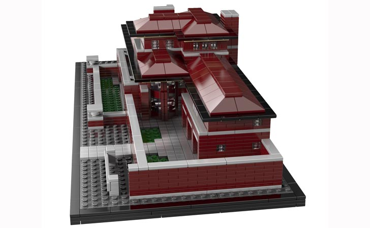 LEGOs Other Architectural Kits Include Some Of The Worlds Most Important Projects Including Two Frank Lloyd Wright Masterpieces Guggenheim Museum