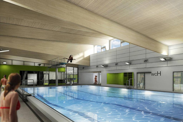 World S First Passivhaus Public Pool Opens In L 252 Nen