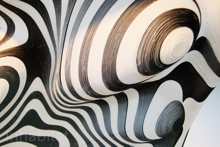 Mathias Bengtssonu0027s Zebra Like Biodegradable Paper Chair Brings Danish  Design To The Cutting Edge | Inhabitat   Green Design, Innovation,  Architecture, ... Great Pictures