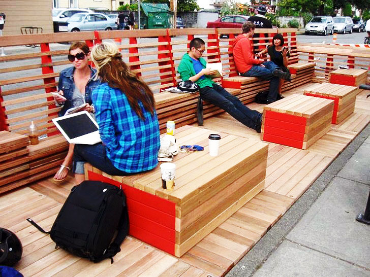 Awesome Modular Public Lounge Takes Over Vancouver S
