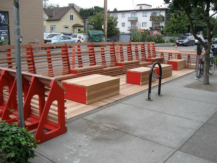 Awesome Modular Public Lounge Takes Over Vancouver 39 S