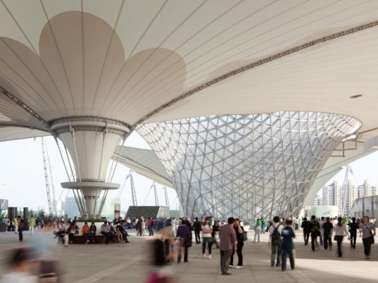 green design, eco design, sustainable design, SBA International, Shanghai, China, World Expo, Expo-Axis, Largest Membrane Roof