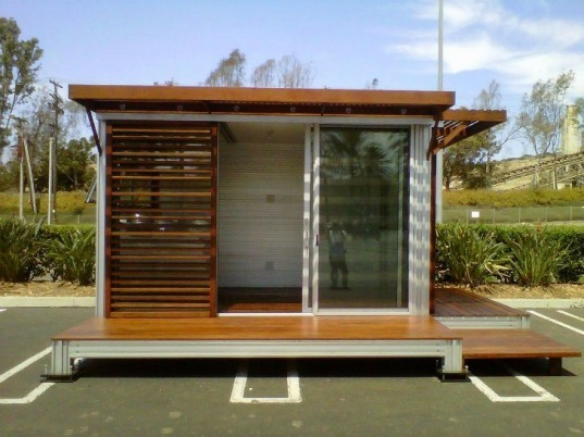Satellite Office, KitHAUS, prefab office, mobile office, shea homes, san diego