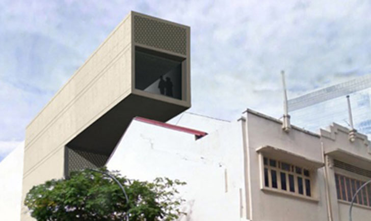 Vw Bs Periscope Building Offers A Bird S Eye View Of