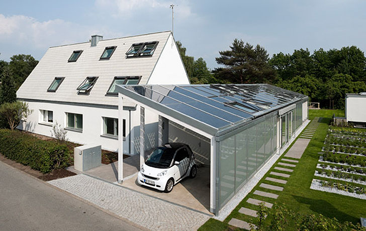 Lichtaktiv haus is the energy efficient home of the future for Energy efficient kit homes