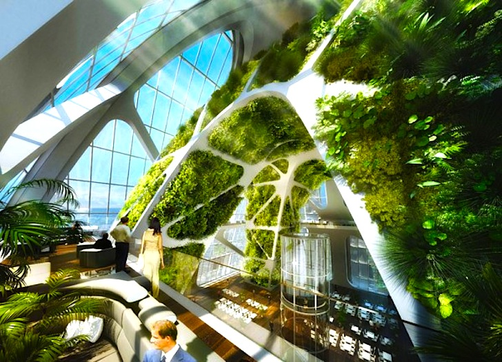 Bionic arch by vincent callebaut inhabitat green for Projet architecture pdf