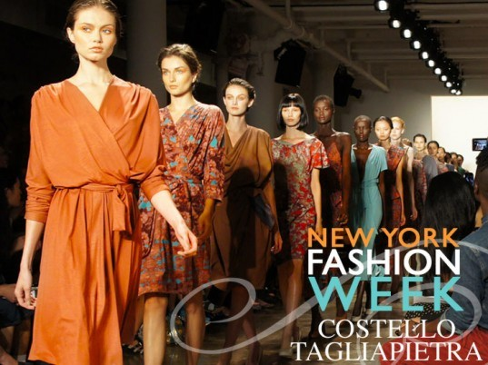 Costello Tagliapietra Spring Summer 2012 Collection At New York Fashion Week, Costello Tagliapietra, eco fashion, green fashion, AirDye, Air Dye, waterless dyeing, Corinne Bailey Rae, Miss J Alexander, sustainable style, eco textiles, green textiles